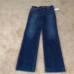 NWT! Seven for all mankind SZ 29  trouser Jean